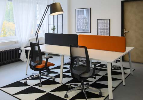 Coworking small office