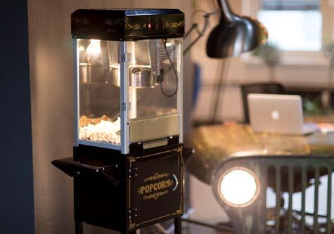 Mitglieder Popcornmaschine
