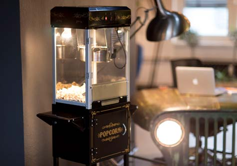 Member popcorn machine