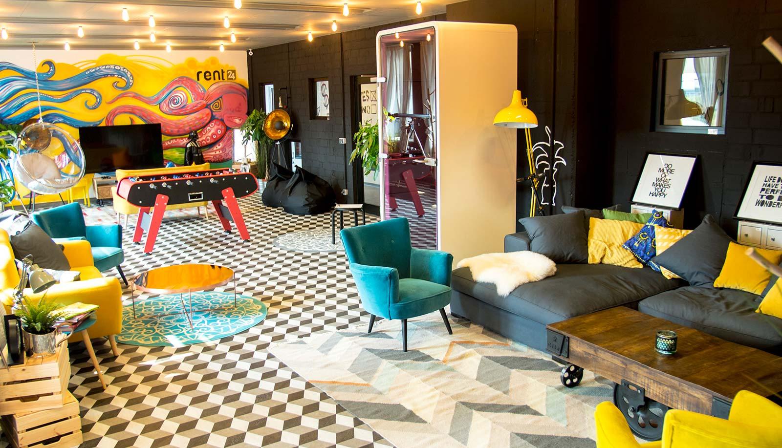 In House Dortmund coworking event space dortmund city hansastrasse rent24